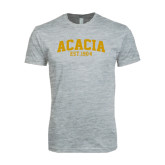 Next Level SoftStyle Heather Grey T Shirt-ACACIA Est. 1904