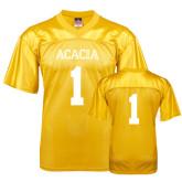 Replica Gold Adult Football Jersey-Acacia