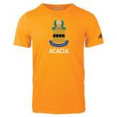 Adidas Gold Logo T Shirt-ACACIA Crest