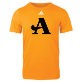 Adidas Gold Logo T Shirt-A