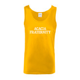 Gold Tank Top-ACACIA Fraternity Stacked