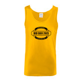 Gold Tank Top-Bid Day Year