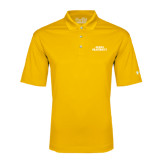Under Armour Gold Performance Polo-ACACIA Fraternity Stacked
