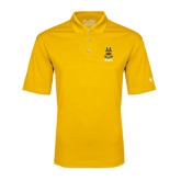 Under Armour Gold Performance Polo-ACACIA Crest
