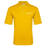 Under Armour Gold Performance Polo-ACACIA Arched