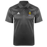 Adidas Climalite Charcoal Jaquard Select Polo-ACACIA Crest