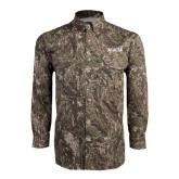 Camo Long Sleeve Performance Fishing Shirt-ACACIA