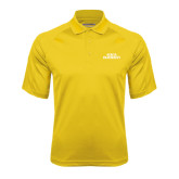 Gold Textured Saddle Shoulder Polo-ACACIA Fraternity Stacked