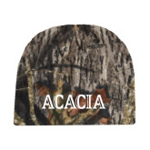 Mossy Oak Camo Fleece Beanie-ACACIA