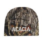 Mossy Oak Camo Fleece Beanie-ACACIA