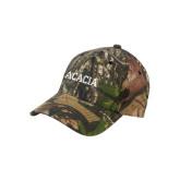 Mossy Oak Camo Structured Cap-ACACIA