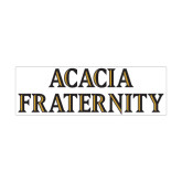 Medium Magnet-ACACIA Fraternity Stacked, 8in wide