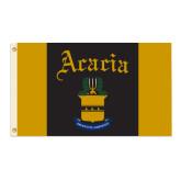 3 ft x 5 ft Flag-ACACIA Crest