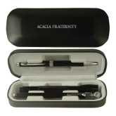 Black Roadster Gift Set-ACACIA Fraternity Engraved