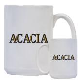 Full Color White Mug 15oz-ACACIA
