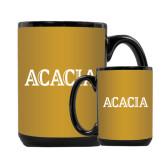 Full Color Black Mug 15oz-ACACIA