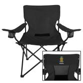 Deluxe Black Captains Chair-ACACIA Crest