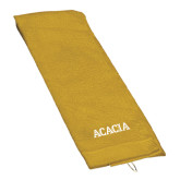 Gold Golf Towel-ACACIA