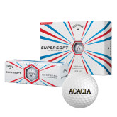 Callaway Supersoft Golf Balls 12/pkg-ACACIA