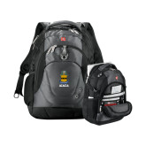 Wenger Swiss Army Tech Charcoal Compu Backpack-ACACIA Crest