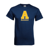 Navy T Shirt-A Allegheny