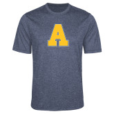 Performance Navy Heather Contender Tee-A