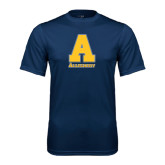 Performance Navy Tee-A Allegheny