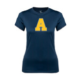 Ladies Syntrel Performance Navy Tee-A