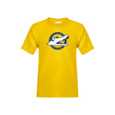 Youth Gold T Shirt-Official Logo