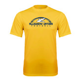 Performance Gold Tee-Arched Football Design
