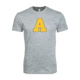 Next Level SoftStyle Heather Grey T Shirt-A