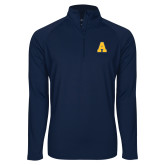 Sport Wick Stretch Navy 1/2 Zip Pullover-A