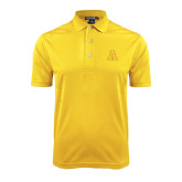 Gold Dry Mesh Polo-A
