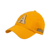 Gold Twill Unstructured Low Profile Hat-A