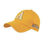 Gold Heavyweight Twill Pro Style Hat-A