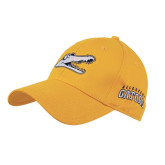 Gold Heavyweight Twill Pro Style Hat-Gator Head