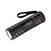 Astro Black Flashlight-Gator Head Engraved