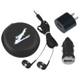 3 in 1 Black Audio Travel Kit-Gator Head