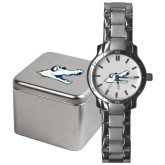 Mens Stainless Steel Fashion Watch-Gator Head