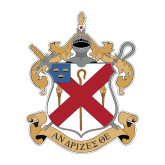 Medium Decal-Crest, 8 in Tall