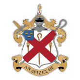 Large Decal-Crest, 12 in Tall