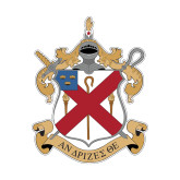 Small Decal-Crest, 6 in Tall