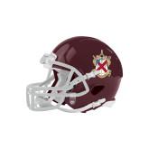 Riddell Replica Maroon Mini Helmet-Crest