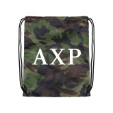 Camo Drawstring Backpack-AXP