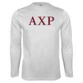 Performance White Longsleeve Shirt-AXP