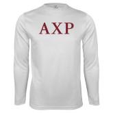 Syntrel Performance White Longsleeve Shirt-AXP