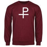 Maroon Fleece Crew-Labarum