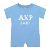 Light Blue Infant Romper-AXP Baby