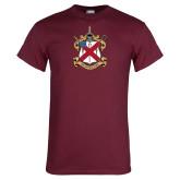 Maroon T Shirt-Crest
