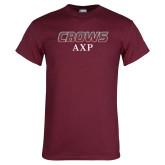 Maroon T Shirt-Crows AXP